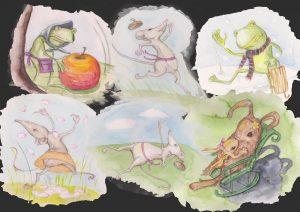 dyr fra årstid