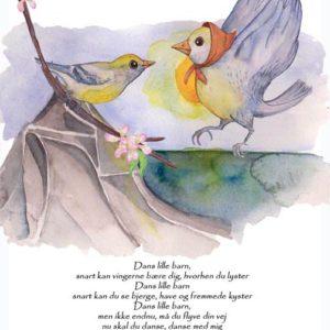 kort med digte